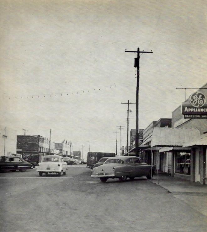 Downtown Malakoff 1956